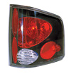 Chevrolet S-10/GMC Sonoma 94-05 Black Tail Lights