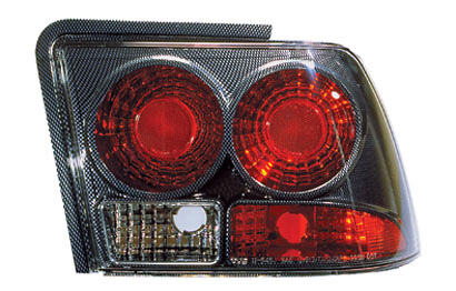 Ford Mustang 99-04 Carbon Fiber Tail Lights