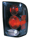 1996 Ford Ranger Pickup  Black Euro Taillight (TYC)