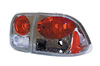 1998 Honda Civic Sedan  Chrome Euro Taillight (TYC)