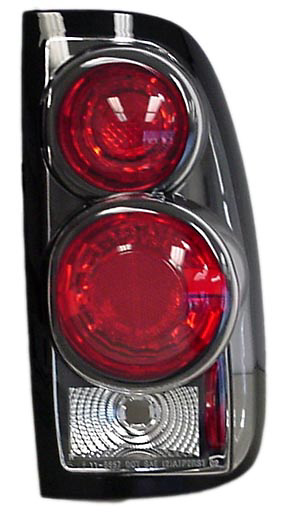 Toyota Tundra 2000-2003 Black Euro Tail Lights (TYC)