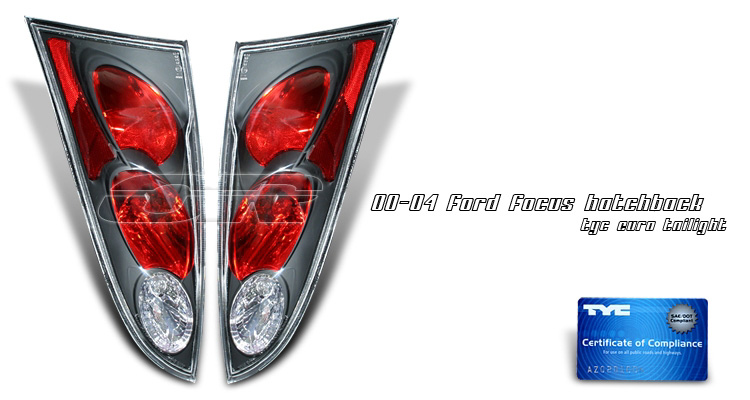 Ford Focus ZX3 2000-2004 Euro Tail Lights