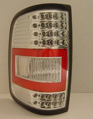 Ford F150 2004-2008 TYC Chrome LED Tail Lights