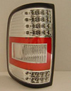 2006 Ford F150  TYC Chrome LED Tail Lights