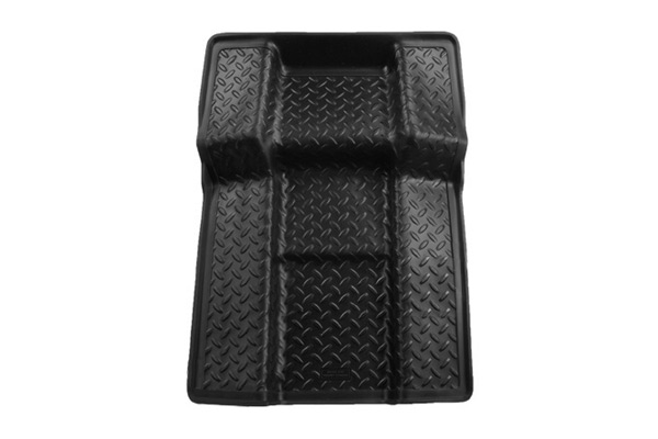 Cadillac Escalade 2011-2013 ,  Husky Weatherbeater Series Walkway Floor Liner - Black