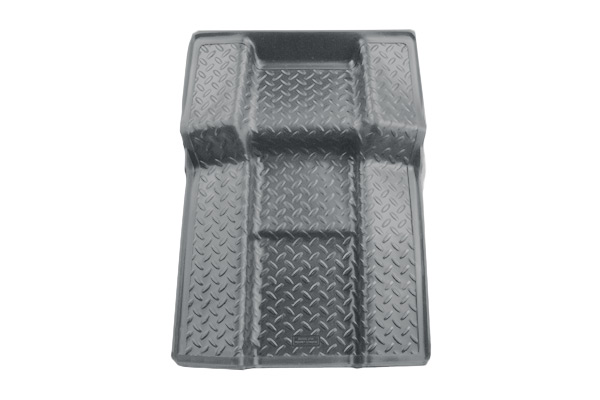 Chevrolet Tahoe 2011-2013 ,  Husky Weatherbeater Series Walkway Floor Liner - Gray