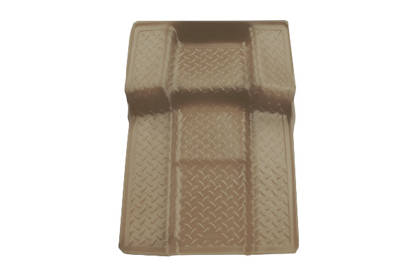 Gmc  Yukon 2011-2013 ,  Husky Weatherbeater Series Walkway Floor Liner - Tan