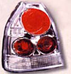 1998 Honda Civic  3 DR Altezza Clear Style Tail Lights