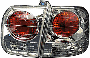 Honda Civic 96-98 4 DR Altezza Style Tail Lamps