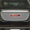 2009 GMC Sierra  Putco Stainless Steel Grill