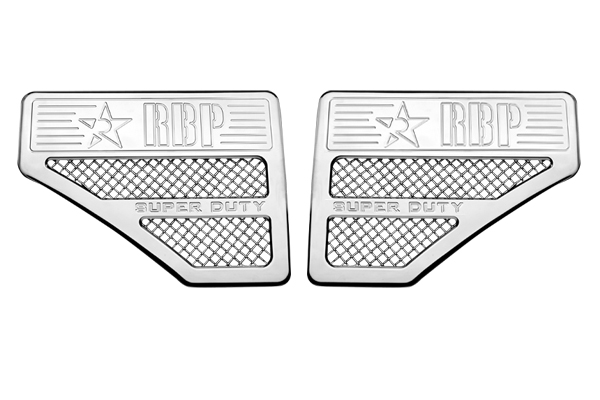 Ford Super Duty (except Harley Edition) 2011-2012 - Rbp Side Vents  Chrome