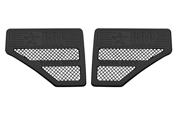 Ford Super Duty (except Harley Edition) 2011-2012 - Rbp Side Vents  Black