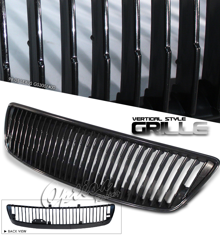 Lexus Gs300 1998-2005  Black Front Grill