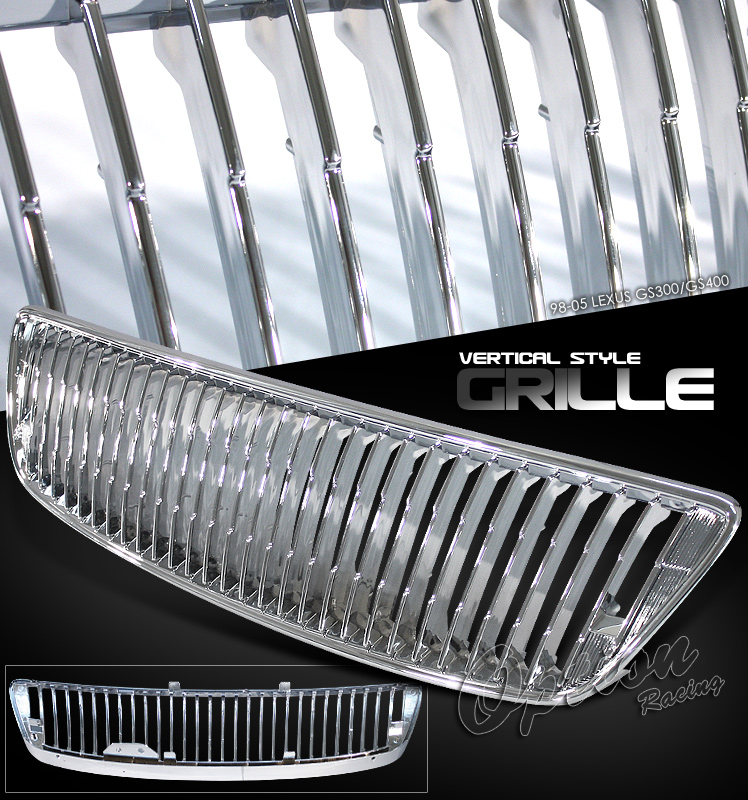 Lexus Gs300 1998-2005  Chrome Front Grill