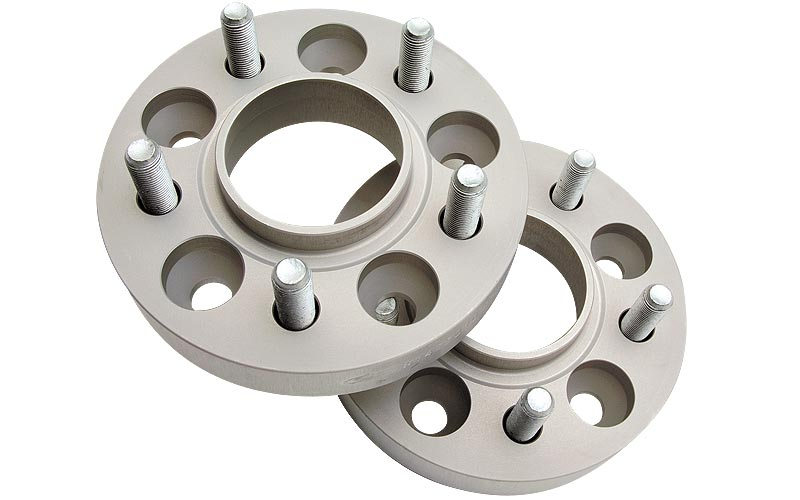 Ford Mustang 1994-2004 Coupe V8-4.6 & 5.0 Exc. Irs & Convertible, 25mm Wheel Spacers