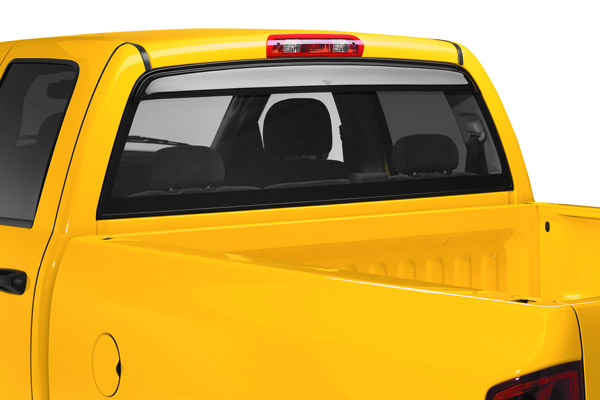 Ford Ranger Extended Cab 1993-2012 Sunflector Rear Window Sun Deflector (smoke)