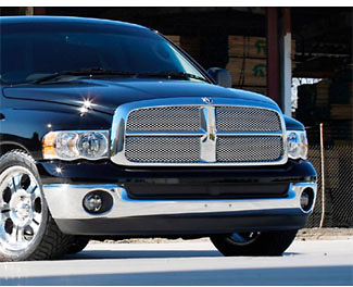 Dodge Ram Pickup 2003-2004 Main Grill, Polished Stainless Steel