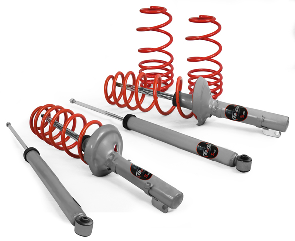 Volkswagen Jetta 1997-1998 4 Cyl S2k Sport Suspension Kit