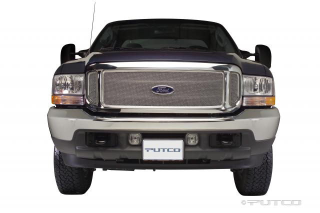 Ford Super Duty w/ Side Vents 1999-2004 Putco Liquid Mesh Grill