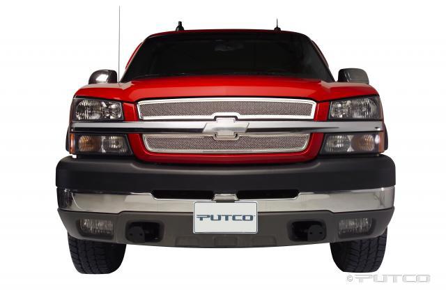 Chevrolet Silverado 2003-2005 Putco Liquid Mesh Grill
