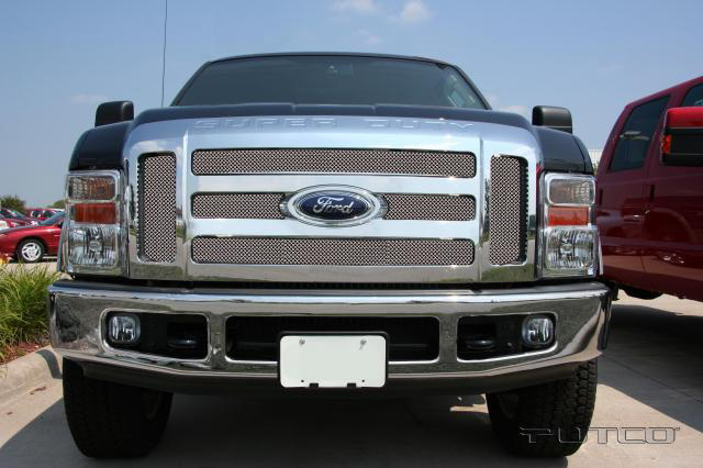 Ford Super Duty 2008 Putco Liquid Mesh Grill