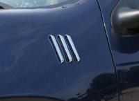 Universal Chrome Side Fender Vents 6 Peice Kit