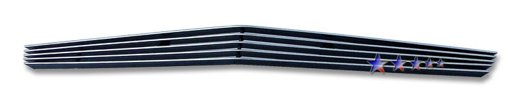 Cadillac CTS  2008-2012 Polished Lower Bumper Aluminum Billet Grille