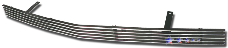 Cadillac Srx  2005-2009 Polished Lower Bumper Aluminum Billet Grille