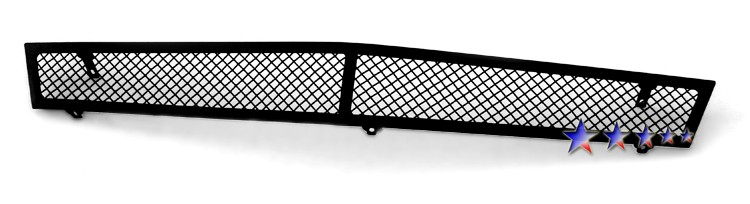 Cadillac CTS  2008-2012 Black Powder Coated Lower Bumper Black Wire Mesh Grille