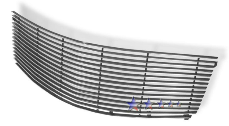 Cadillac Srx  2005-2009 Polished Main Upper Aluminum Billet Grille