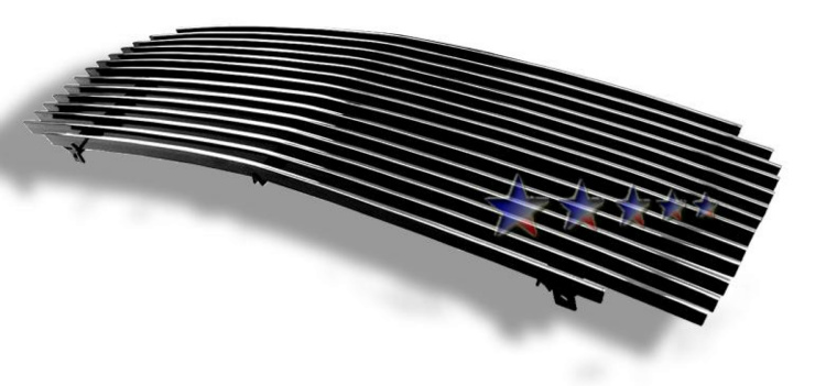 Cadillac Escalade  1999-2001 Polished Main Upper Aluminum Billet Grille