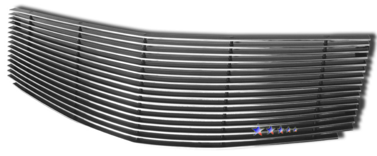 Cadillac CTS  2003-2007 Polished Main Upper Aluminum Billet Grille