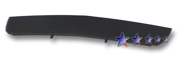 Cadillac Deville  2000-2005 Black Powder Coated Main Upper Black Aluminum Billet Grille
