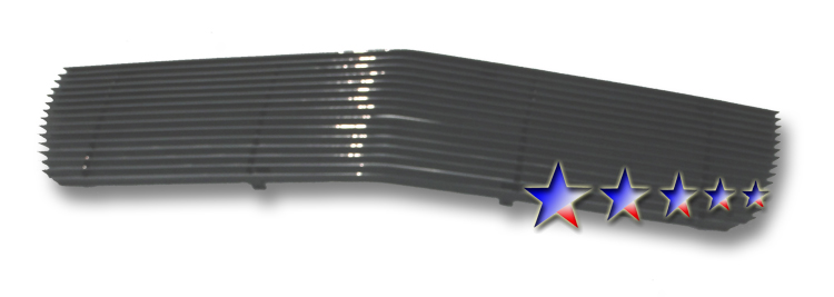 Cadillac El Dorado  1995-2002 Black Powder Coated Main Upper Black Aluminum Billet Grille