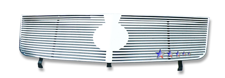 Cadillac Escalade  2002-2006 Polished Main Upper Perimeter Grille