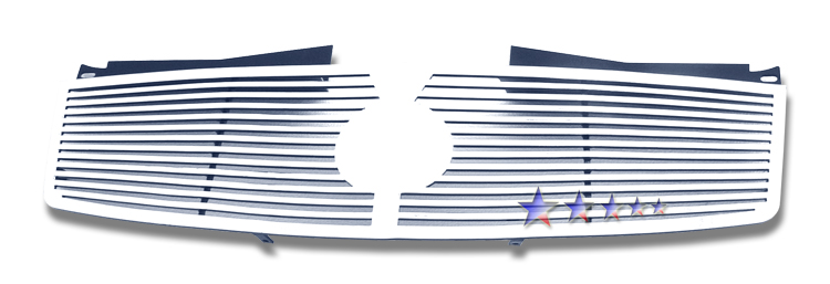 Cadillac CTS  2003-2007 Polished Main Upper Perimeter Grille