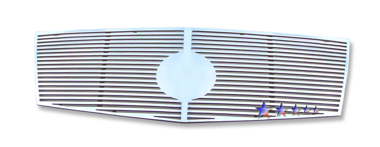 Cadillac CTS  2008-2012 Polished Main Upper Perimeter Grille