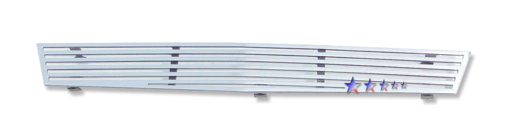 Cadillac CTS  2008-2012 Polished Lower Bumper Perimeter Grille