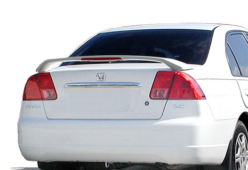 Honda Civic 4DR  2001-2005 Factory Style Rear Spoiler - Primed