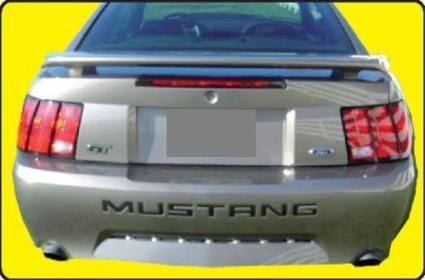 Ford Mustang   1999-2004 Factory Style Rear Spoiler - Painted