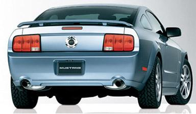 Ford Mustang   2005-2007 Factory Style Rear Spoiler - Primed