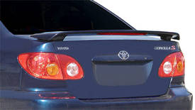 Toyota Corolla   2003-2008 Factory Style Rear Spoiler - Painted