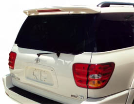 Toyota  Sequoia   2001-2007 Factory Style Rear Spoiler - Primed