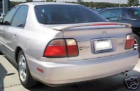 Hyundai Accent 4DR  2006-2010 Custom Style Rear Spoiler - Primed