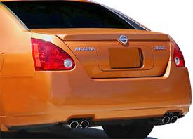 Nissan Maxima   2004-2008 Lip Style Rear Spoiler - Primed