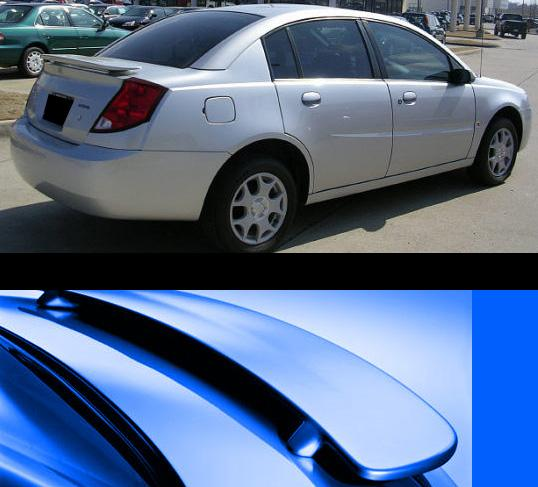 Saturn Ion 4DR  2003-2007 Factory Style Rear Spoiler - Primed