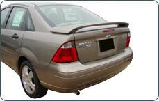 Ford Focus 4DR  2005-2007 Factory Style Rear Spoiler - Primed