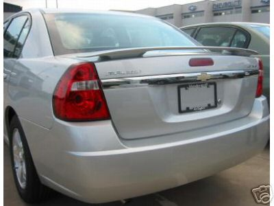 Chevrolet Malibu 4DR  2004-2007 Factory Style Rear Spoiler - Painted