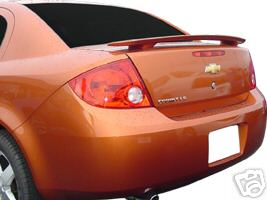 Chevrolet Cobalt 4DR  2005-2010 Factory Style Rear Spoiler - Painted