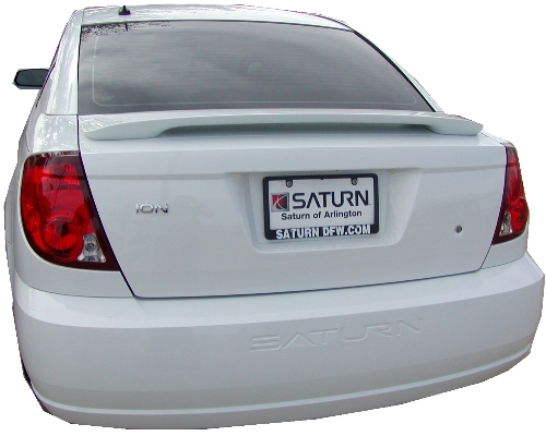 Saturn Ion 2DR  2003-2007 Factory Style Rear Spoiler - Painted